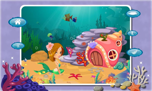 公主房间装扮之美人鱼-美人鱼公主 房间设计