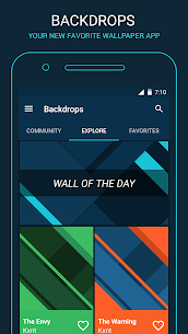 Backdrops – Wallpapers 3.1 [Pro Features Unlocked] MOD Apk 1