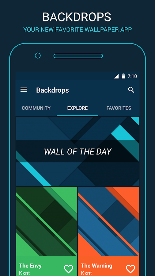 Backdrops - Wallpapers- screenshot
