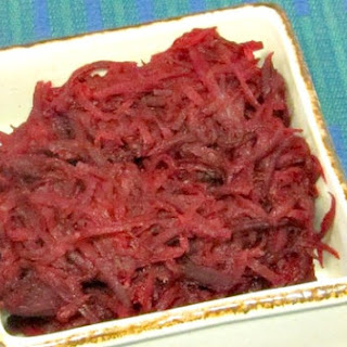 Sauteed Shredded Beets.