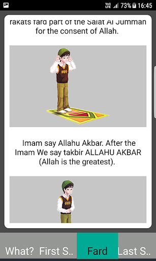 Salah Guides With Pictures All Salahs Prayer screenshot 22