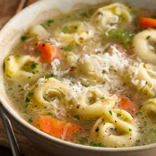 Cheese Tortellini Soup Recipes.