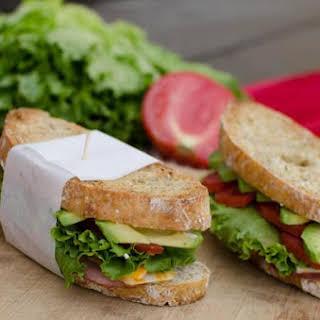 Garlic Toasted Sandwich.