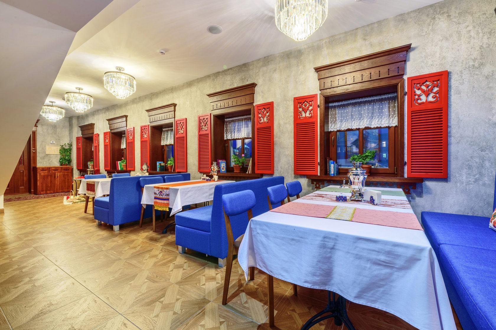 Театр национальной кухни в Казани