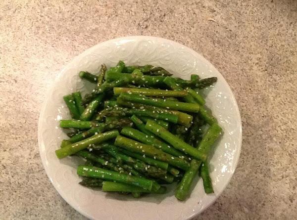Sesame Garlic Asparagus Recipe