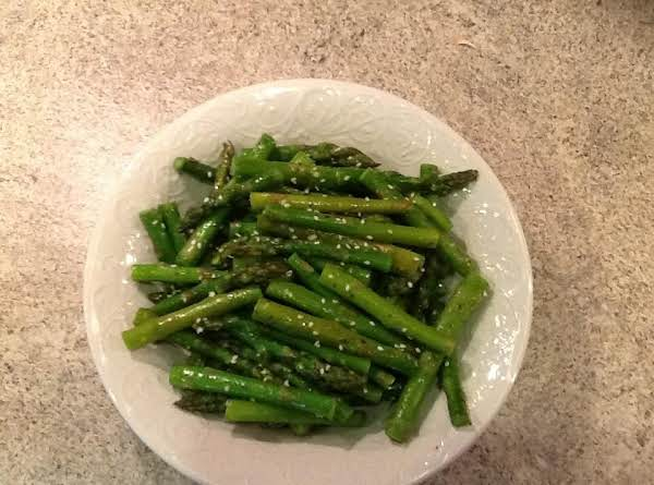 Sesame Garlic Asparagus Recipe