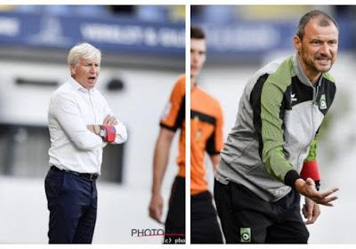"""Coaches STVV en Cercle oneens over hun eerste resultaat: """"Twee punten te weinig"""" vs. """"De correcte uitslag"""""""