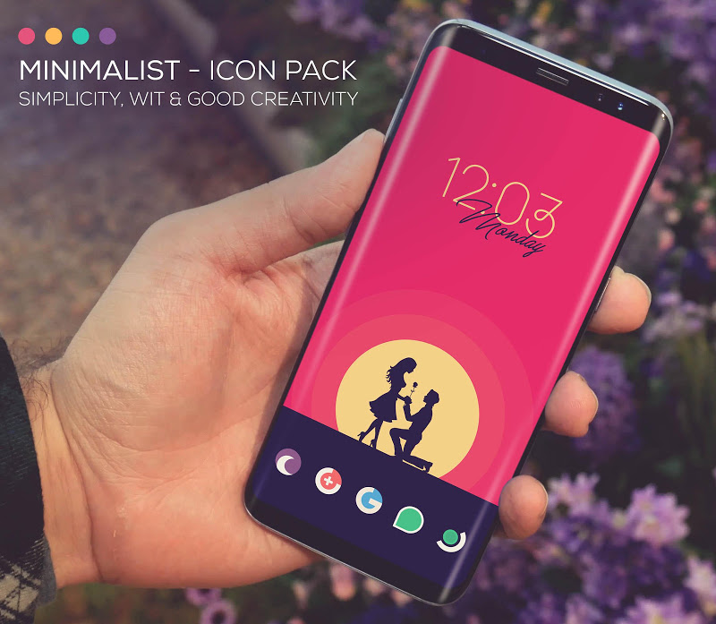 Minimalist - Icon Pack Screenshot 9