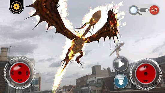 DreamWorks Dragons AR Screenshot