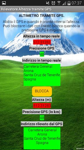 Altimetro gps gratuito