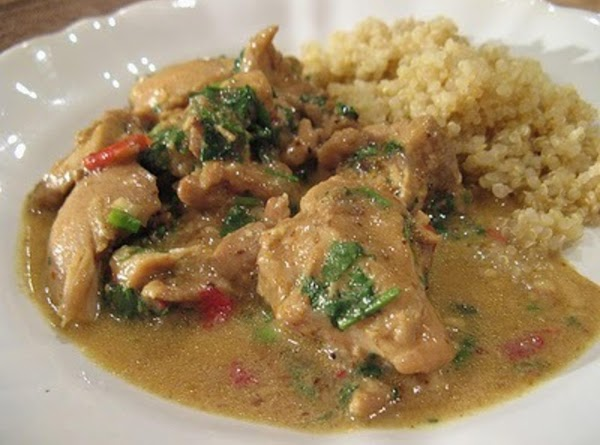 Curried Coconut Chicken Recipe