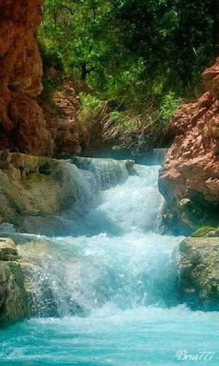 Tranquil Waterfall Live Wallpa