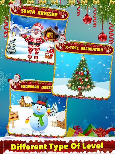 Santa And Snowman Dressup And Decoration 1.0.0 screenshots 2