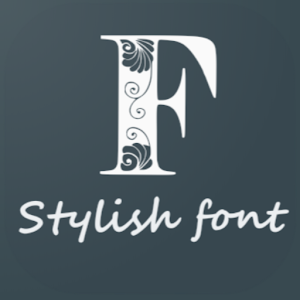 Stylish Fonts 01.06.2020 (Ad Free) by Stark Industries India logo