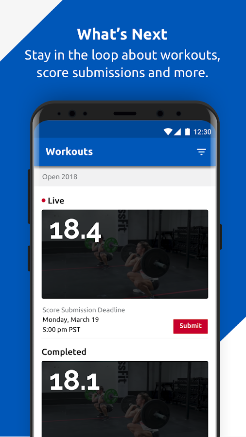 CrossFit Games- screenshot