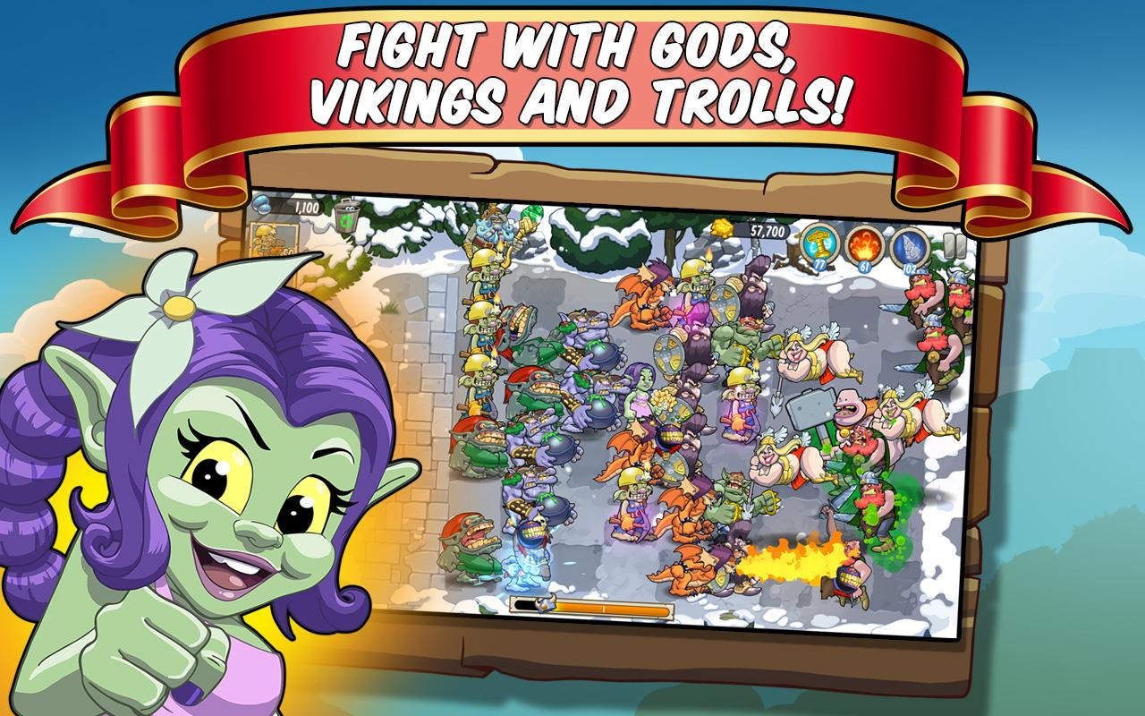 Trolls vs Vikings- screenshot