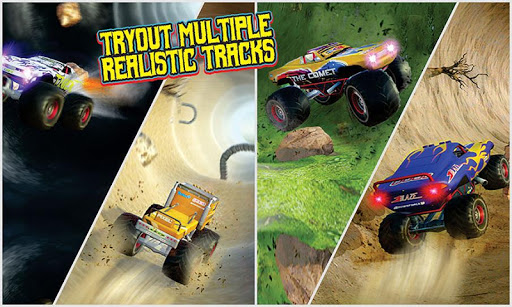 Off Road Outlaw - 4x4 monster truck games 1.0 Mod screenshots 1