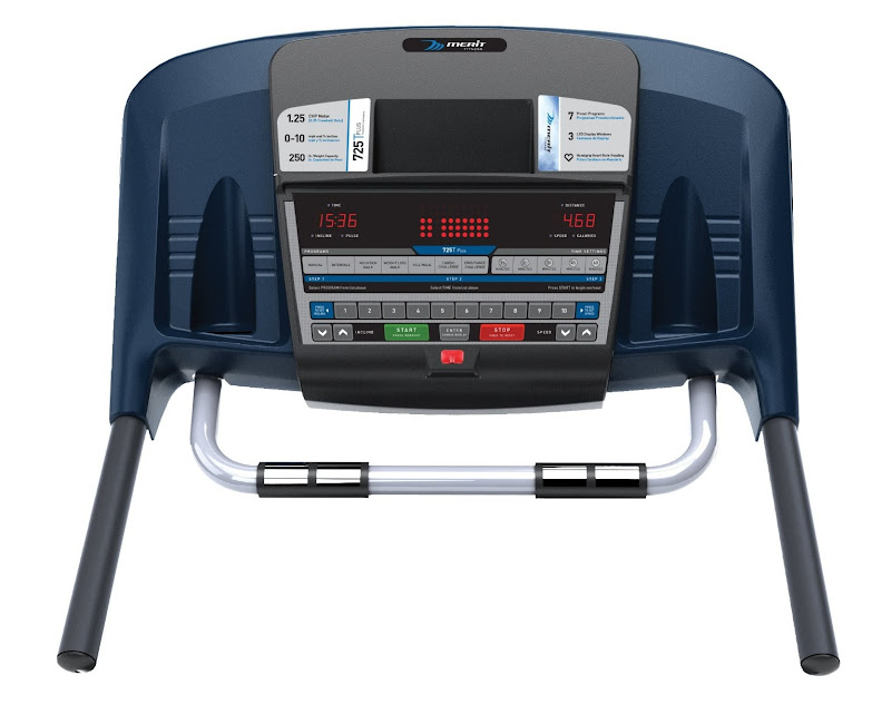 Merit Fitness 725T Plus console, image