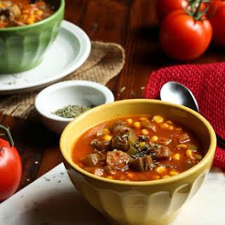 Creole Okra Corn Soup.