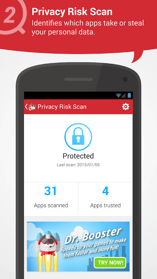 Screenshots of Dr. Safety-BEST FREE ANTIVIRUS for iPhone
