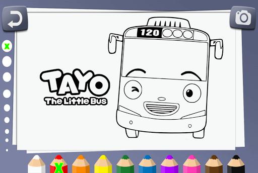 500+ Gambar Mobil Tayo Untuk Diwarnai HD Terbaik