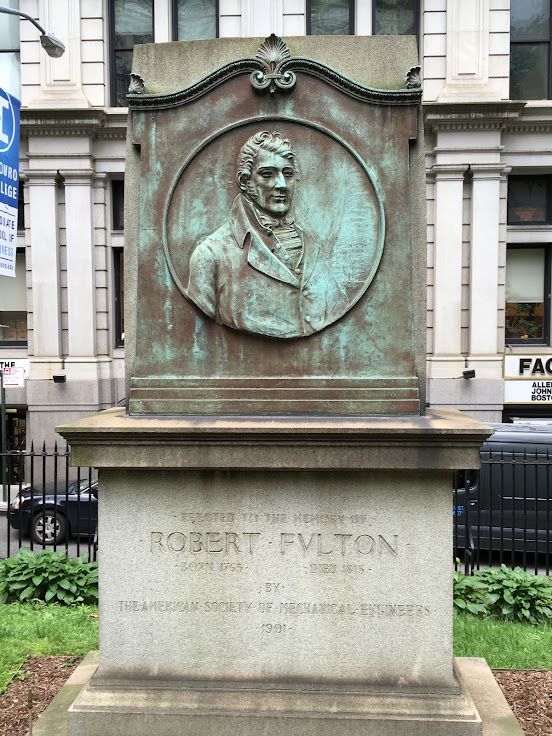 Robert Fulton's grave.