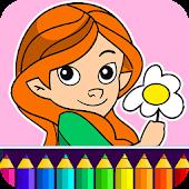 Girls Coloring Game