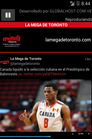 La Mega de Toronto- screenshot