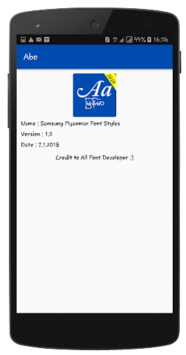 Myanmar Font Styles For SAMSUNG 1.1 screenshots 6
