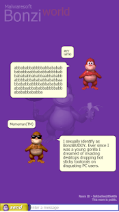 BonziWORLD - BonziBUDDY Chat- screenshot thumbnail