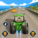 Tractor Traffic Racer: GT Tractor Games icon