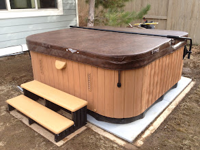 Photo: Very happy with my EZ pad. It was so simple to assemble and place. When the spa delivery guys showed up to deliver my new spa, they asked where I got it,  they were impressed, especially when I told them what I paid compared to a cement base. Thanks.  Adam S, Bend OR