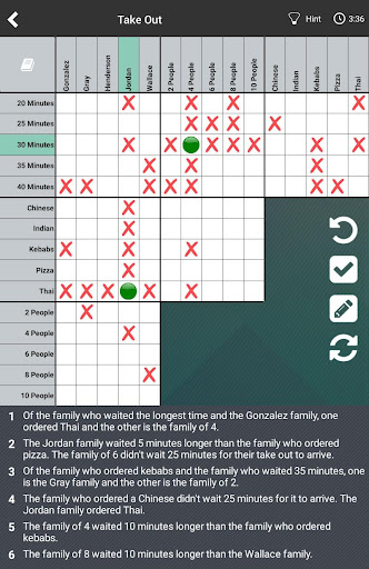 Logic Puzzles Daily - Solve Logic Grid Problems screenshots 5