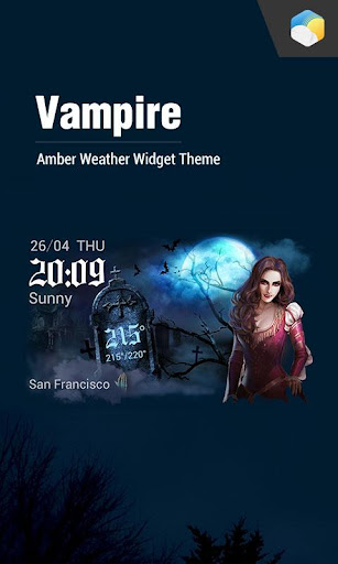 玩免費天氣APP|下載Vampire daily weather report app不用錢|硬是要APP