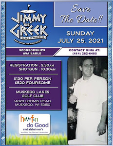 7th Annual Jimmy the Greek Round to Remember Golf Outing