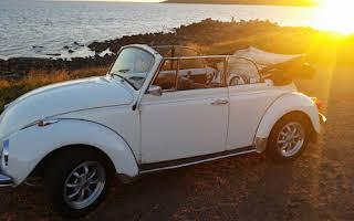 Volkswagen Karmann Cabriolet Rent Halland