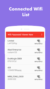 Wifi Password Viewer screenshot 0