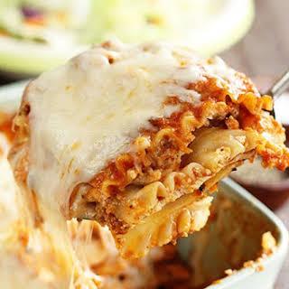 Easiest Lasagna.