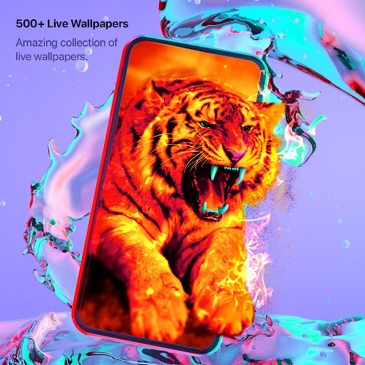 Live Wallpapers 4k & HD Backgrounds by WAVE 3.1.8 screenshots 1