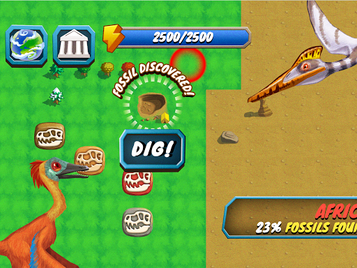 Dino Quest - Dinosaur Discovery and Dig Game apkpoly screenshots 9