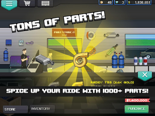Pixel Car Racer 1.1.8 screenshots 9