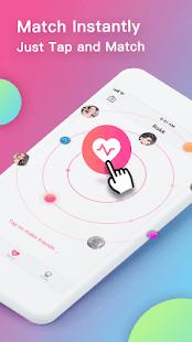 Rokk - Random video chat & Face swap filters - náhled