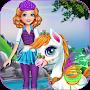 Sandra Pony Fairy Salon