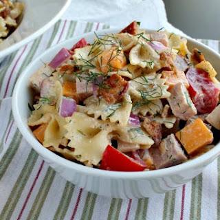 Fully Loaded Club Pasta Salad