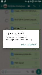 SendAnyFile - No restrictions! Screenshot