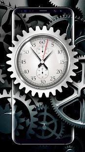 Analog Clock Live Wallpaper for Free - náhled