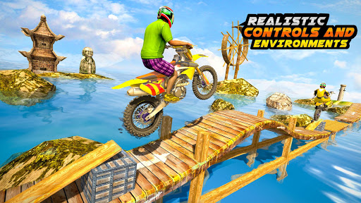 Trial Bike Racing Stunts : New Stunt Bike Games 3.9 screenshots 3