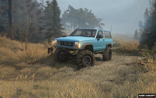 4x4 Jeep Extreme Stunts Mountain Trick Master 2019 screenshots 9