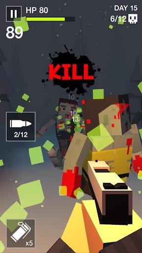 Cube Killer Zombie - FPS Survival 1.1.7 screenshots 1
