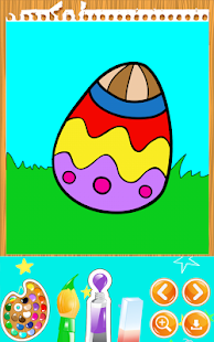 Easter Coloring Book- screenshot thumbnail